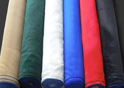 Plain Shade Cloth Rolls – 70% Density