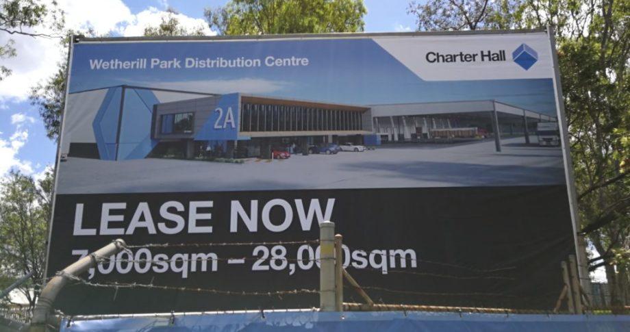 Charter Hall Wetherill park Billboard