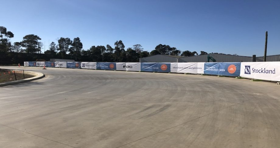 Mesh Banner Printing for Stockland