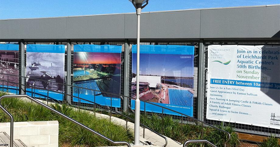 Mesh Fence Panels for Leichhardt Park Aquatic